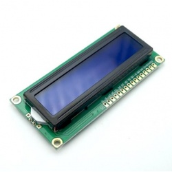 LCD 16x2 white and blue
